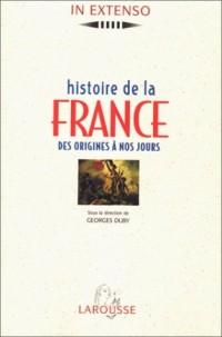 Histoire de France des origines a nos jours