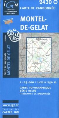 Montel-de-Gelat GPS