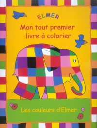 Album a colorier elmer