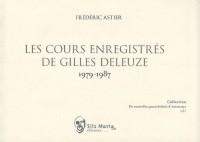 Les cours enregistrés de Gilles Deleuze, 1979-1987