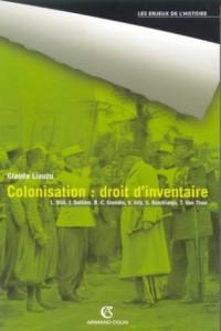 Colonisation : droit d'inventaire