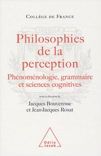 Approches de la perception : Phénoménologie, grammaire et sciences cognitives