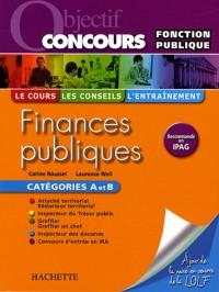 Finances publiques catégorie A et B