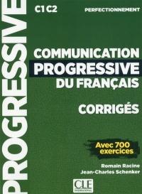 Communication progressive du français - Niveau perfectionnement - Corrigés - Nouveauté