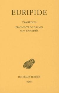 Euripide Tome VIII 4ème partie Fragments de drames non identifiés