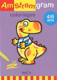 Coloriages 4/6 ans (dinosaure)