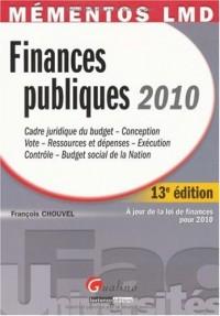 Finances publiques 2010