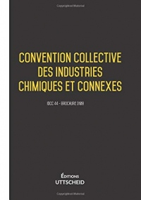 3108 Convention collective nationale des industries chimiques - Derniere editon
