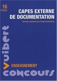 CAPES externe de documentation