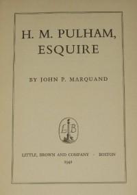 H.M Pulham Esquire