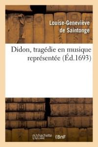 Didon  Tragedie en Musique  ed 1693