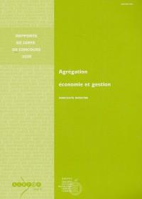 Agrégation économie et gestion : Concours externe