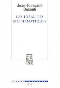 Les Idéalités mathématiques. Recherches épistémologiques sur le développement de la théorie des fonc