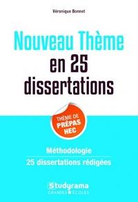 25 dissertations sur le théme de culture générale des Prépa commerciales
