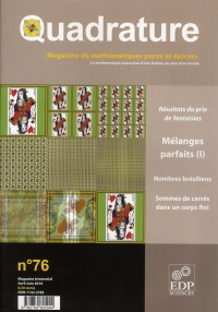 Quadrature 76 melanges mathematiques