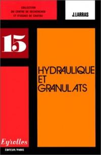 Hydraulique et granulats