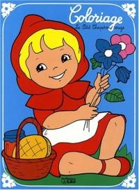 Un conte à colorier : le petit chaperon rouge