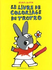 Le livre de coloriage de Trotro