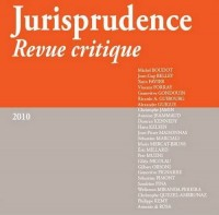 Jurisprudence revue critique