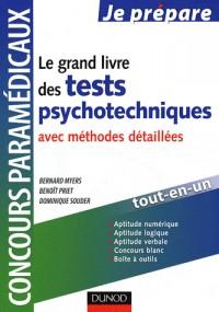 Le grand livre des tests psychotechniques avec méthodes détaillées
