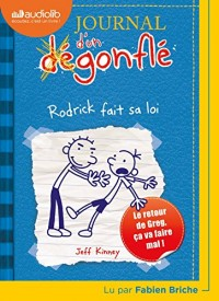 Journal d'un dégonflé 2 - Rodrick fait sa loi: Livre audio 1 CD MP3