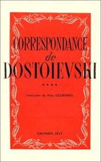 Correspondance de Dostoïevski, tome 4 (livre non massicoté)