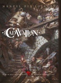 Rackham - The Free City of Cadwallon : Players Handbook Version Anglaise - Livre Jeu de Role Confrontation