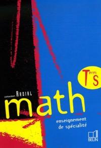 Math Tle S : Enseignement de spécialité