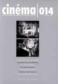 Cinéma, N° 014, automne 2007 :  (1DVD)