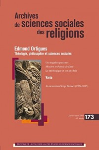 Archives de Sciences Sociales des Religions 173