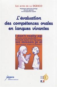 L'évaluation des compétences orales en langues vivantes : Réflexions autour des nouvelles épreuves du baccalauréat STG