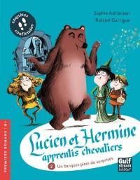 Lucien et hermine, apprentis chevaliers - tome 2 un banquet plein de surprises !