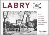 Labry : 1914-1918, entre front et frontière
