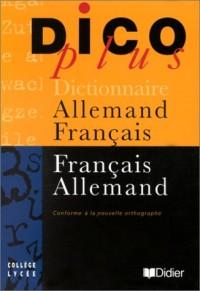 Dicoplus : Dictionnaire allemand/français - français/allemand