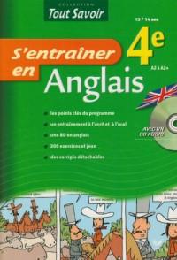 S'entraîner en Anglais 4e (1CD audio)