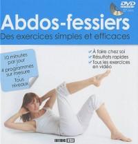 Abdos fessiers : Des exercices simples et efficaces (1DVD)