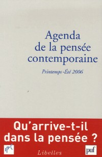 Agenda de la pensée contemporaine, N° 1-2/2006 :