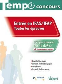 Entrée IFAS / IFAP : Toutes les épreuves, collection Tempo concours