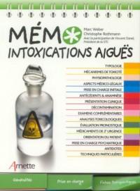 Mémo intoxications aiguës