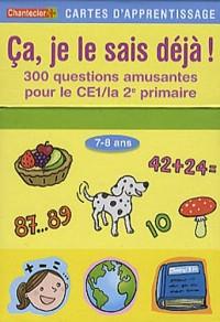 cartes d'apprentissage - ca, je le sais deja! (7-8 ans)