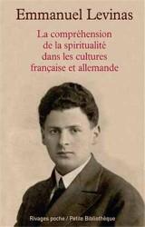 La compréhension de la spiritualité dans les cultures française et allemande [Poche]