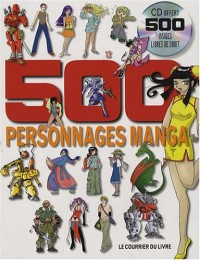 500 personnages manga