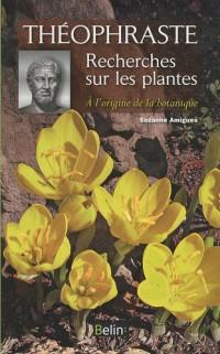 Recherches sur les plantes : A l'origine de la botanique