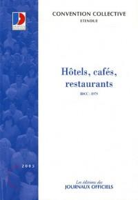 Hôtels, cafés, restaurants.