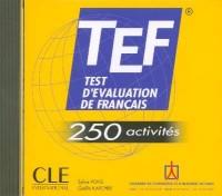 Tef-250 Activities Audio CD