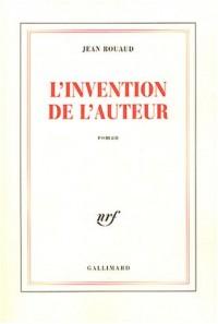 L'Invention de l'auteur