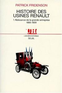 Histoire des usines Renault
