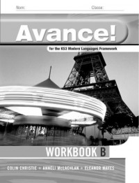 Avance: Framework French Basic Workbook 1