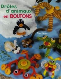 Drôles d'animaux en boutons