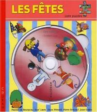 Les fêtes. Livre puzzle avec CD-ROM